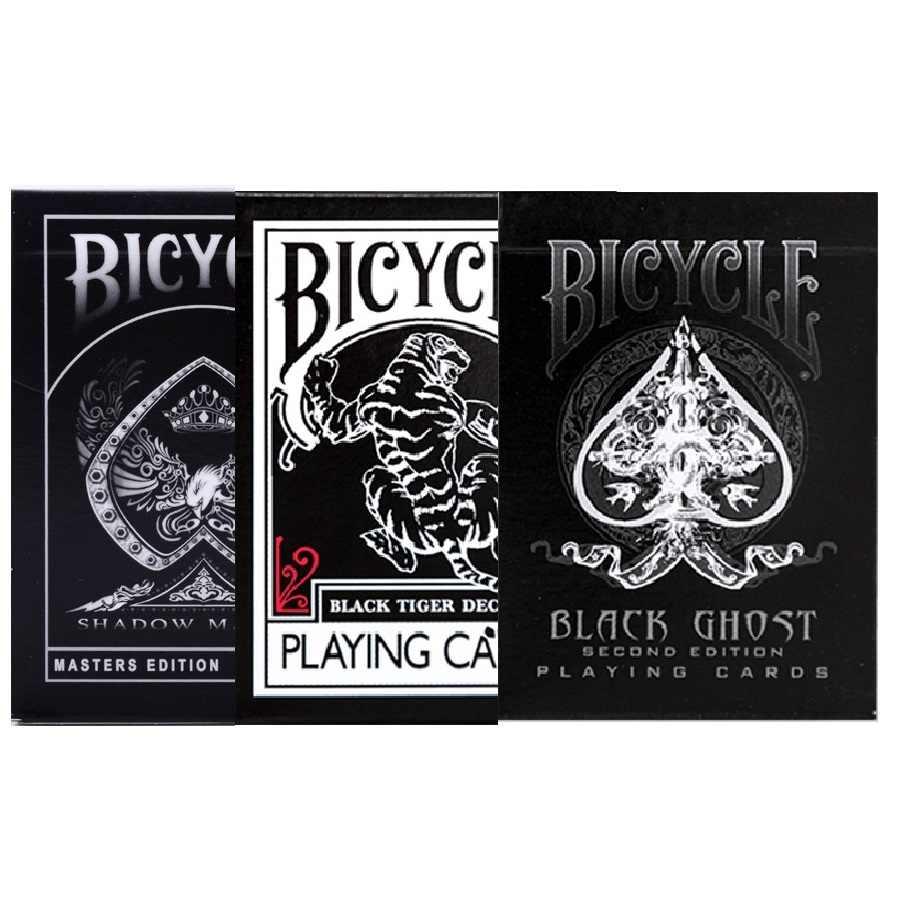 Велосипед черный тигр/Призрак/тень Монстр игральные карты Ellusionist колода USPCC