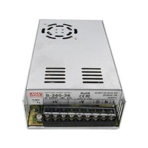 Image 5 - 4 Trục NEMA 23 Động Cơ Bước Bộ: Nema23 Động Cơ 4 Đầu 3N. M + DM542 Driver + Đột Phá Bảng + 350W 36 V CNC Router