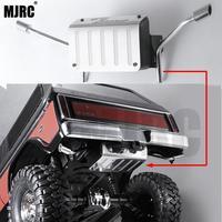 Metalowy zbiornik paliwa i rura wydechowa 1/10 Rc ciężarówka typu crawler Ford bronco Traxxas Trx4 ogon rura wydechowa Ford 82046 4 TRX4 dedykowane w Części i akcesoria od Zabawki i hobby na