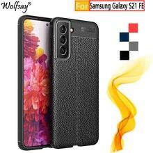 Voor Samsung Galaxy S21 Fe Case Rubber Behuizingen Silicon Bumper Case Voor Samsung Galaxy S21 Fe Telefoon Cover Voor Samsung s21 Fe Case
