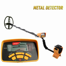 Free Shipping MD6350 high sensitivity Gold nuggets Digger metal Scanner Finder Treasure Hunter deep underground metal detector