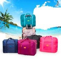 Reise Klapp Taschen Reisetasche Wasserdicht Unisex Handtaschen Frauen Gepäck Verpackung Würfel Totes Große Kapazität Tasche Großhandel