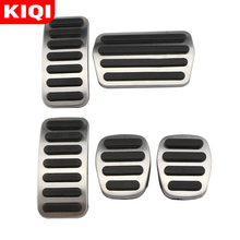 Pedals Cover-Accessories Styling Volvo Clutch-Brake Stainless-Steel Accelerator S40 C30