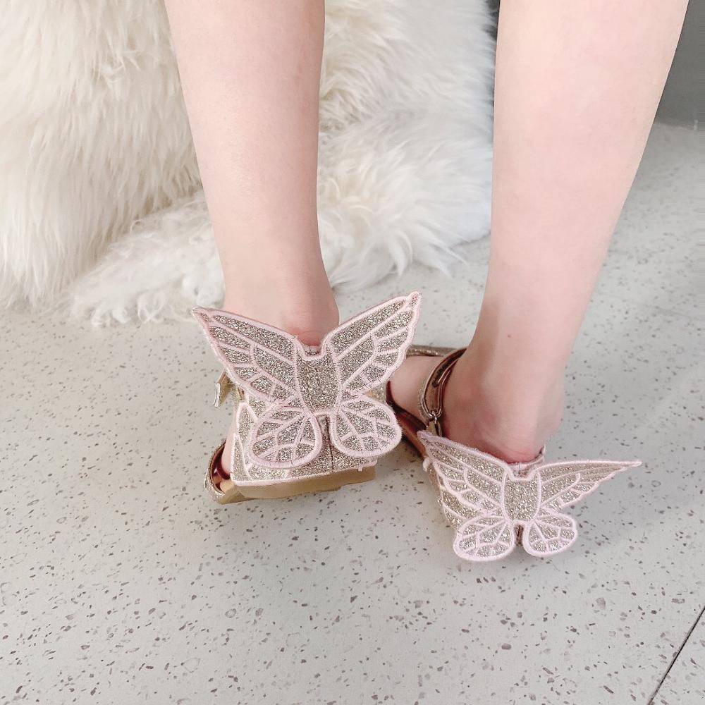 Baby Girls Shoes Sandals Embroidery Butterfly Design Girls Foothold Booking Design April 20th 2020