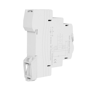 Image 5 - Home Smart 18mm 1P WiFi Remote APP Control Circuit Breaker Timing Switch Staircase Timer Din Rail Universal 110V 220V AC Input