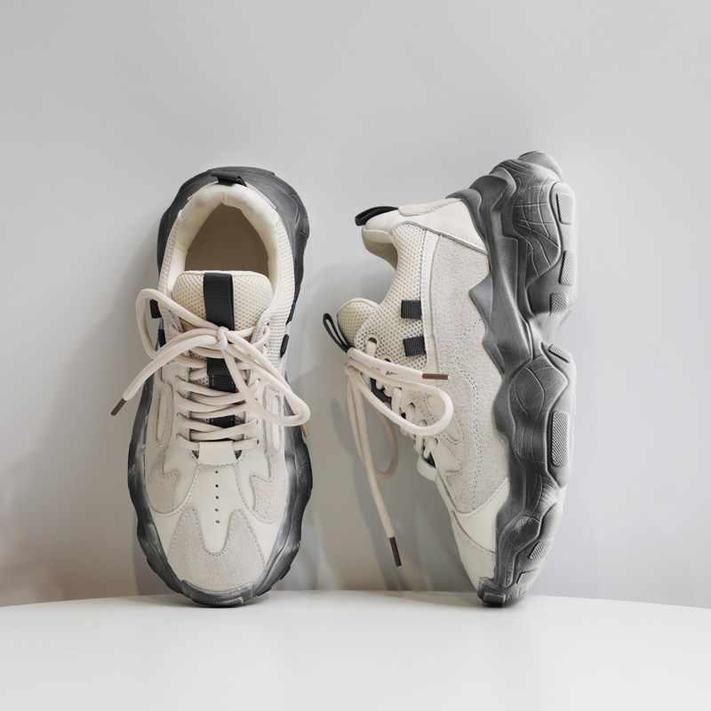 YRRFUOT rahat ayakkabılar kadınlar için marka ışık kadın moda spor ayakkabı günlük ayakkabı bahar Zapatos Mujer 2020 rahat ayakkabılar kadınlar için