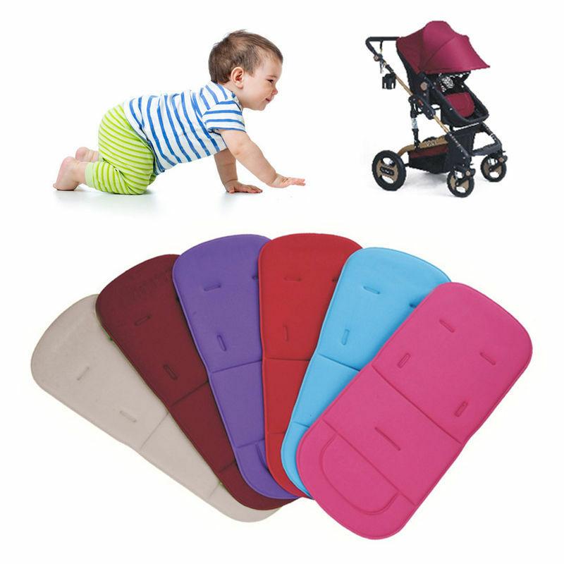 Universal Baby Kids Soft Stroller Pram Pushchair Car Seat Liner Pad Cushion Mat