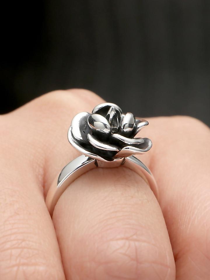 I01 anillo muelle con Kokopelli de plata Sterling 925 ajustable en tamaño
