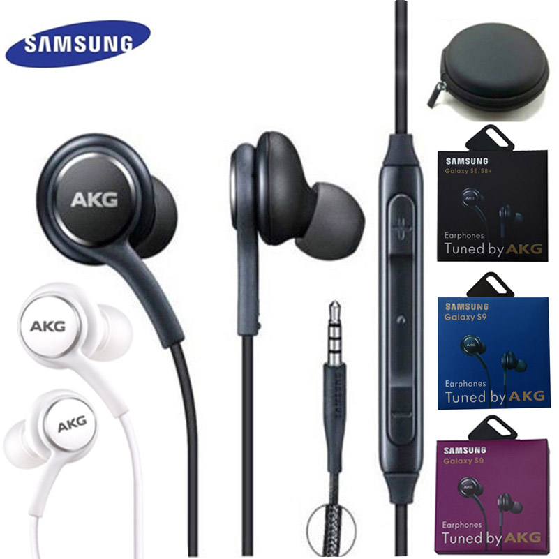 Samsung AKG EO IG955 Earphones 3.5mm In-ear Mic Wired Headset For Samsung Galaxy S10 S9 S9+ S8 S7 S6 S5 Huawei Xiaomi Smartphone