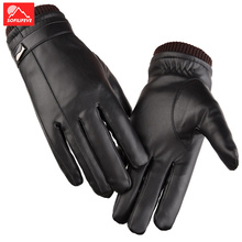 Touch screen Winter Cycling Gloves Men Women Warm Bike Bicycle Gloves Full Finger Thermal Waterproof Winter Gloves Cold Weather super cute cat style warm plush gloves for cold weather black pair