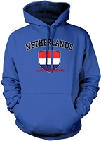 Autumn and winter hohoodies men funny Printed hoodie sweatshirt Men's Netherlands Flag Shield, Dutch Pride Hooded Sweatshirt