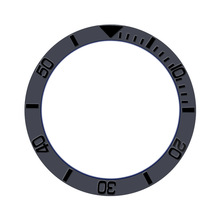 Watch Faces Watch-Accessories Rolex Insert Ceramic-Bezel Inner-Diameter 38mm Men Digital