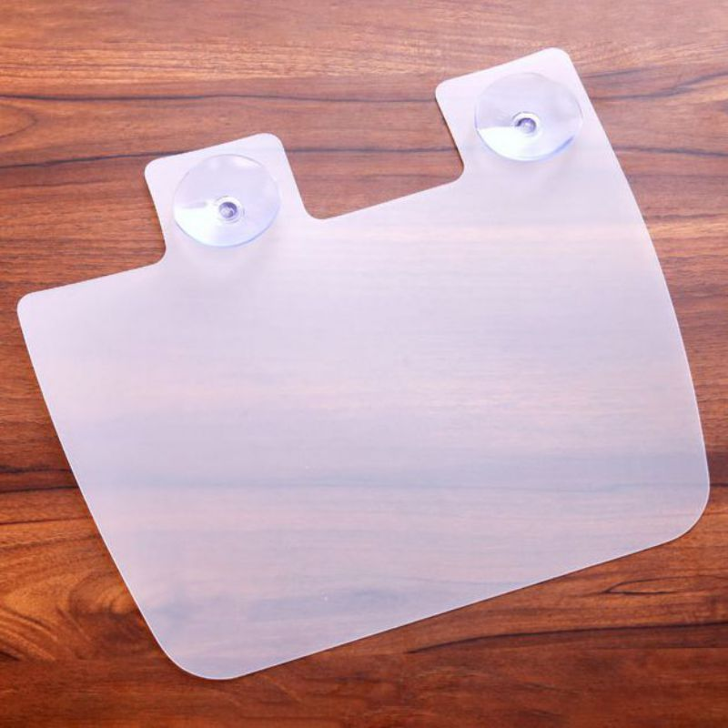 Kitchen Sink Dam Splatter Guard Board Suction Cup Useful Sink Water Splash Guard Baffle Board Spatter Defense