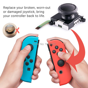 Image 3 - 3D אנלוגי אגודל מקל עבור Nintendo מתג לשמחה קון ג ויסטיק חיישן מודול תיקון כלי עבור JoyCon החלפה