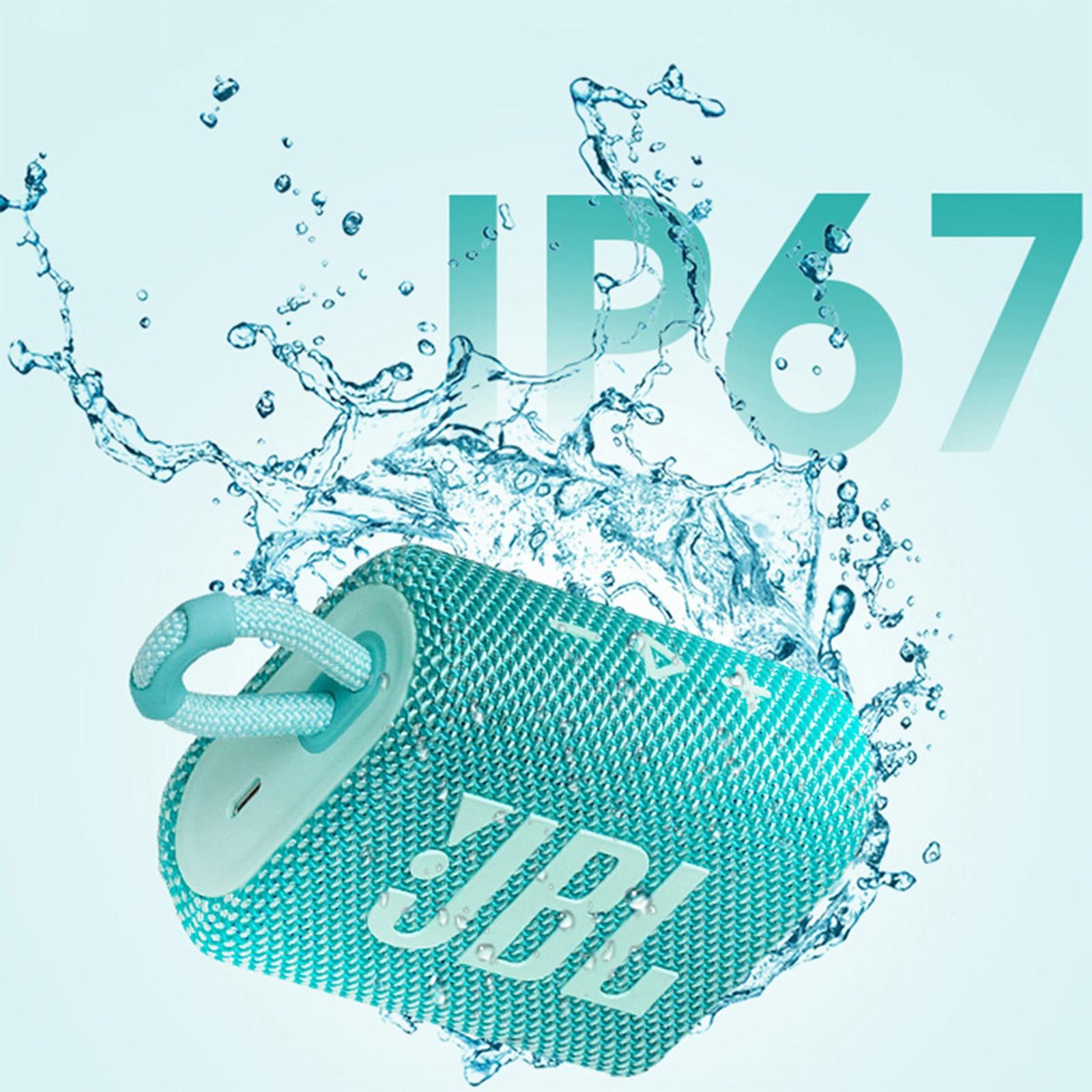 Original jbl GO 3 GO3 wireless Bluetooth Speaker Subwoofer Outdoor Speaker Waterproof Bass Sound Mini Speaker multiple colour