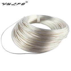 VULPO High Temperature Resistance Silver Plated Copper Wire (1m) & Wire Plug & Motor Plug For Gearbox AEG