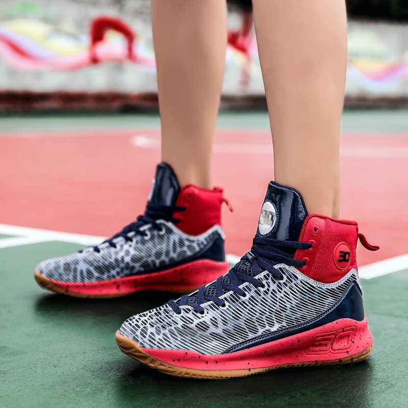 แนวโน้มใหม่รองเท้าบาสเก็ตบอลผู้ชายBreathable Slipรองเท้าผ้าใบJordan Basketballกลางแจ้งการฝึกอบรมรองเท้าChaussures Deตะกร้า