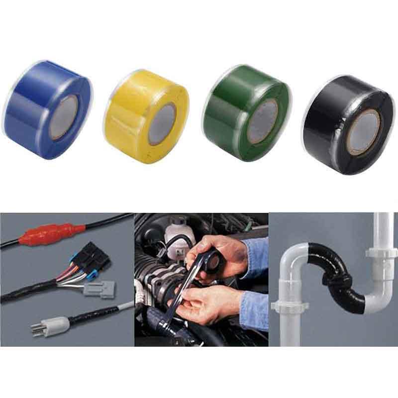 1.5M Silicone Rubber Repair Tape Waterproof Bonding Rescue Self Fusing Wire Hose