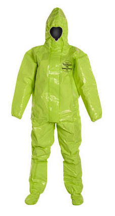 Import America DuPont Protection Suit Tychem TK-128T One-piece DuPont Protection Suit