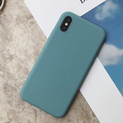 Силиконовый чехол для iPhone 11 Pro Max, чехол из мягкого ТПУ, матовый цветной чехол для телефона s, чехол для iPhone 6 7 8 Plus 6S XS Max XR X Etui - Цвет: SD-5