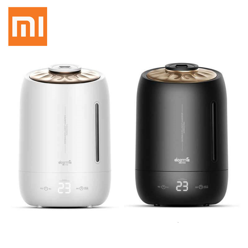Xiaomi DEERMA Household Air Humidifier Air Purifying Mist Maker Timing With Intelligent Touch Screen Adjustable Fog Quantity 5L