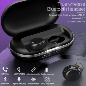 Image 2 - Wireless tws Bluetooth Earphone Multi function Set with 50mAh Black/White Charging Compartment 2600mAh Stereo earphone Touch