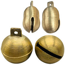 Brass Copper Bell 10pcs for Cow Horse Sheep Grazing Dog Cattle Animals Anti-Lost Loud Sound Jingle Bell Christmas Ornament Bells(China)