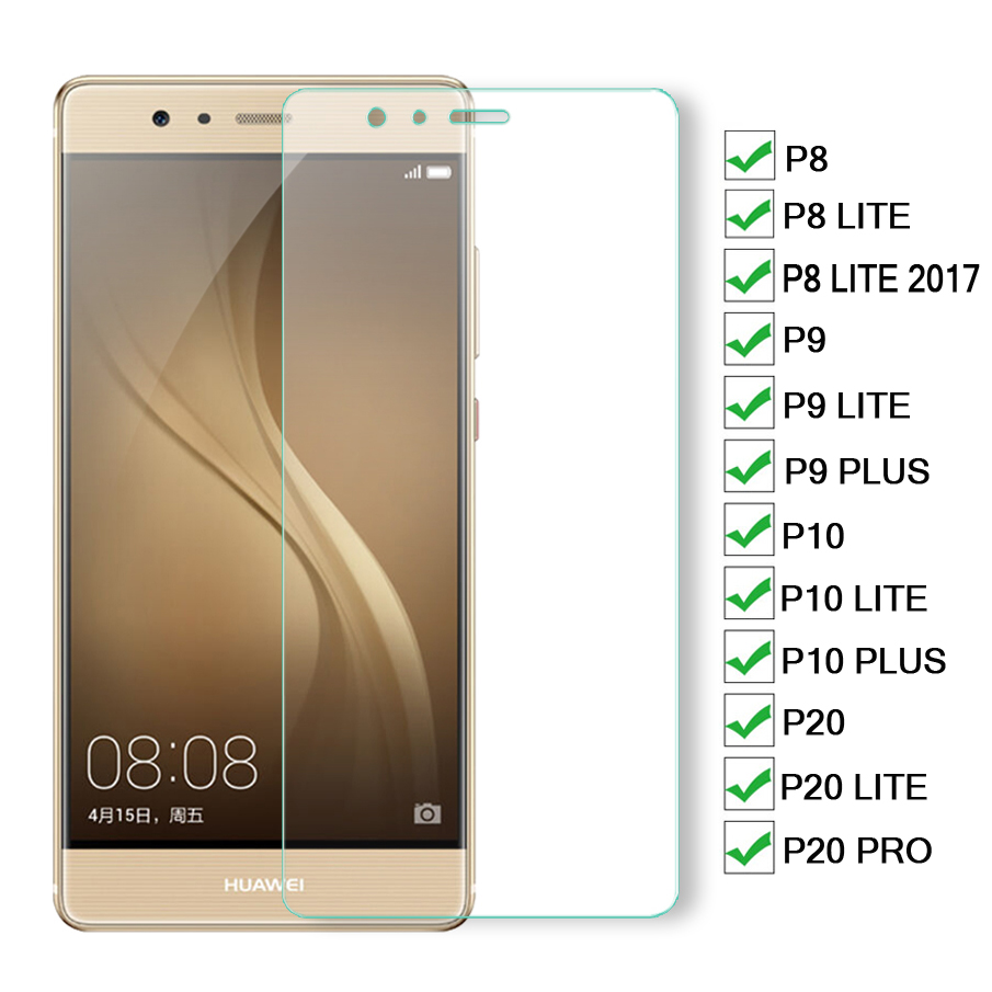 3D Protective Glass On The For Huawei P8 P9 P10 P20 Lite Screen Protector For Huawei P20 Pro P9 P10 Plus Tempered Glas Film Case