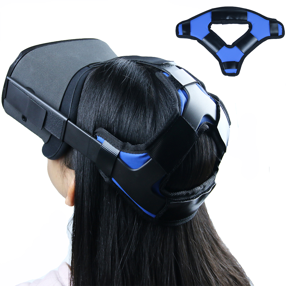 2020 Latest Comfortable PU Leather Non-slip Head Strap Foam Pad For Oculus Quest VR Headset Cushion Headband Fixing Accessories