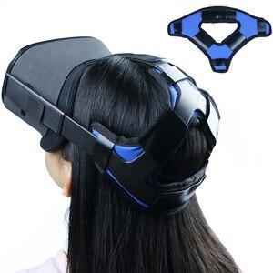 Image 1 - נוח עור מפוצל החלקה ראש רצועת קצף Pad עבור צוהר Quest/quest 2 vr אוזניות כרית סרט תיקון אבזרים
