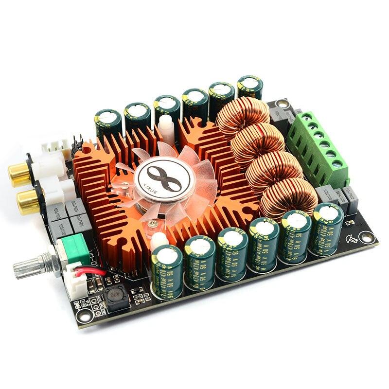 Tda7498E High Power Digital Power Amplifier Board 2.0 Hifi Stereo 160W X 2 Support Btl220W Dc12V-36V