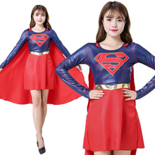 Superwoman Role Play Clothing Anime Cosplay Costume Halloween Costumes for Women Performance Dresses Superwoman Cosplay Costumes supergirl who is superwoman