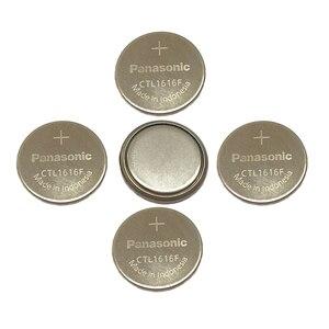 5 шт./лот Panasonic Solar CTL1616 CTL1616F Сменные аккумуляторные батареи для часов и монет CTL 1616