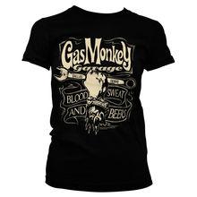 Print Men T Shirt Summer Garage- Wrench Label Hot Rod Car Fans T-Shirt