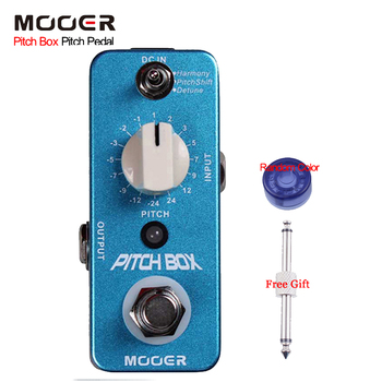 Mooer Pitch Box Pitch Guitar Effect Pedal 3 Effects Modes: Harmony/Pitch Shift/Detune Full Metal Shell Bypass