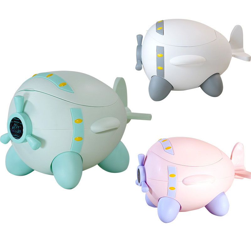 Aircraft Soft Baby Potty Infant Cute Toilet Safe Kids Trainer Chair