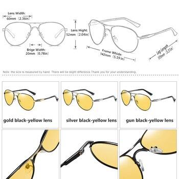 Coolpandas top quality aviation men sunglasses polarized driving photochromic day night vision goggle pilot glasses women uv400