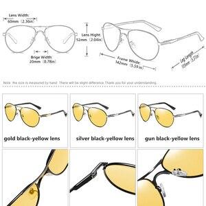 Image 4 - CoolPandas en kaliteli havacılık erkek güneş gözlüğü polarize sürüş fotokromik gündüz gece görüş gözlüğü Pilot gözlük kadınlar UV400