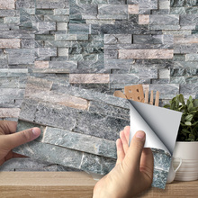 3D Brick Pattern Wall…