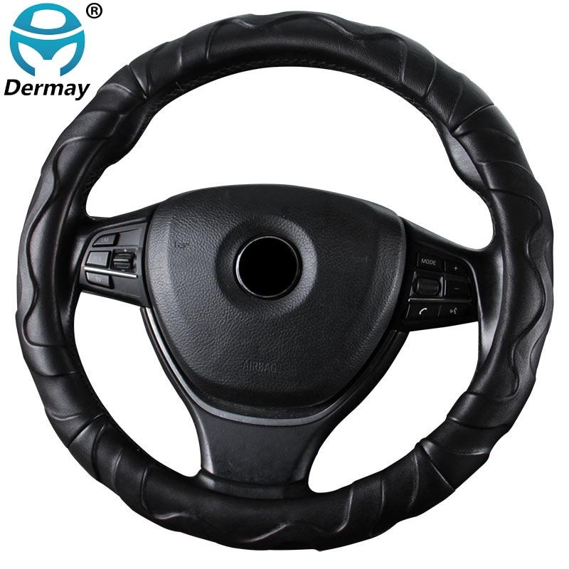 Крышка рулевого колеса из овчины размер М для внешнего диаметра руля 37-38 см