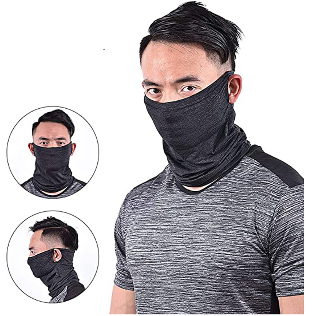 Anti ultraviolet Breathable Lightweight Stretch Washable Cloth Motorcycle Facemask Cycling Face Cover Bandana Dustproof Cover Innrech Market.com