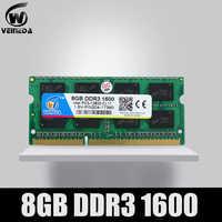 VEINEDA DDR3 4gb 8gb 1600NHz PC3-12800 So-dimm Ram Compatibile ddr3 1333 PC3-10600 ddr 3 204pin 1.5V Per AMD Intel Del Computer Portatile