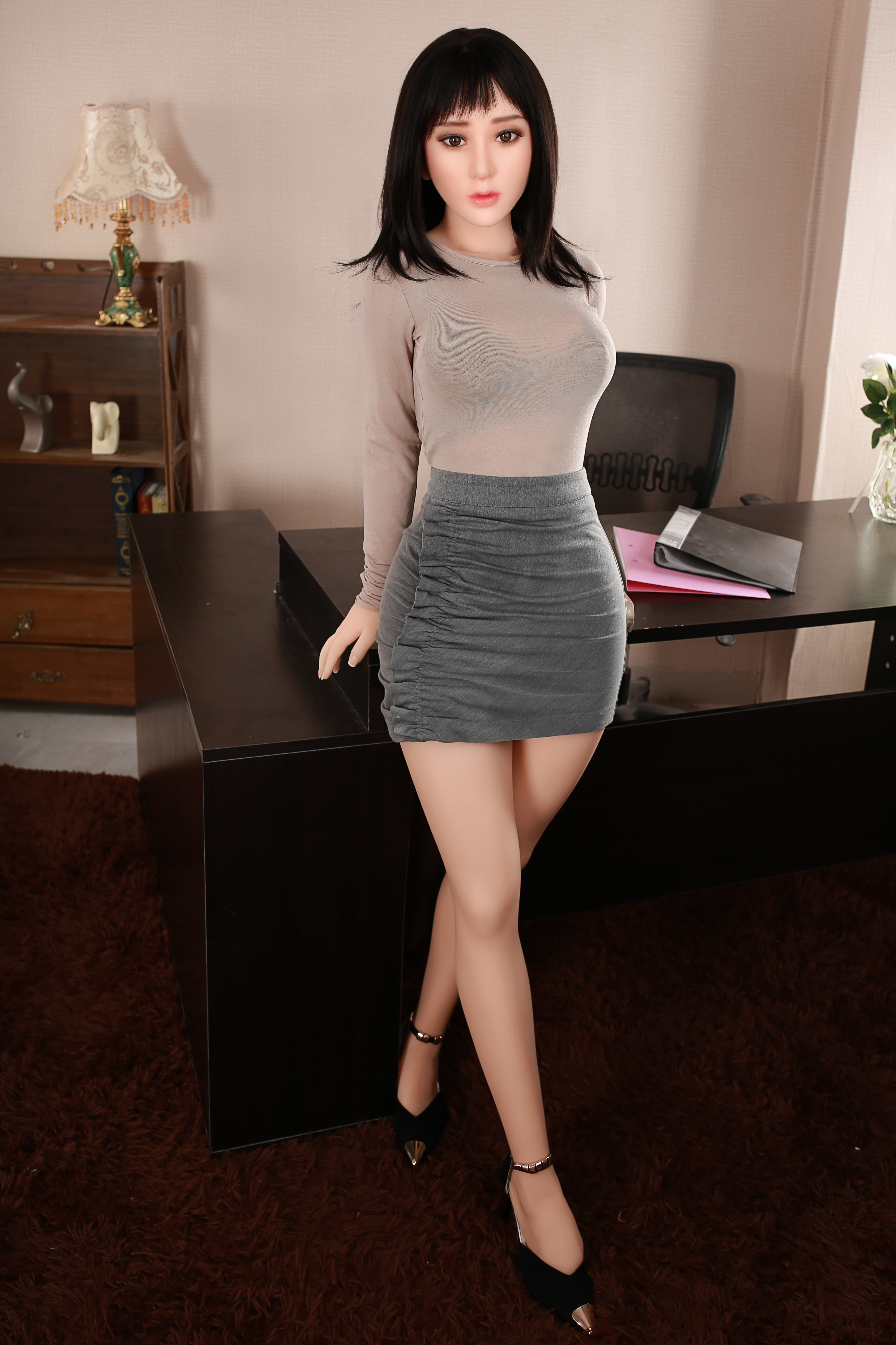 YANNOVA 160cm-109# TPE with Metal skeleton Sex doll lovely girl real silicone sex dolls for men realistic sex dolls