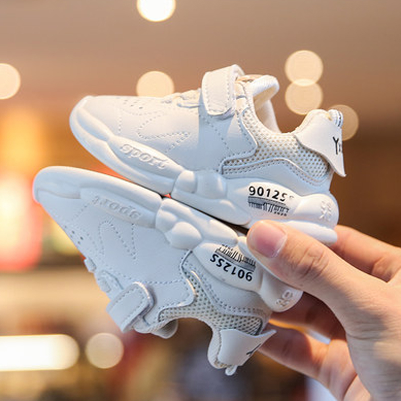 Children Shoes Boy Girl Sport Shoes Breathable Infant Running Shoes Sneakers Soft Bottom Non-slip Casual Little Kid Tennis Shoes
