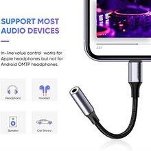Lightning vers adaptateur de câble Audio Jack 3.5mm pour IPhone 12 11 Pro Max XS XR écouteurs séparateur Aux convertisseur de casque accessoires