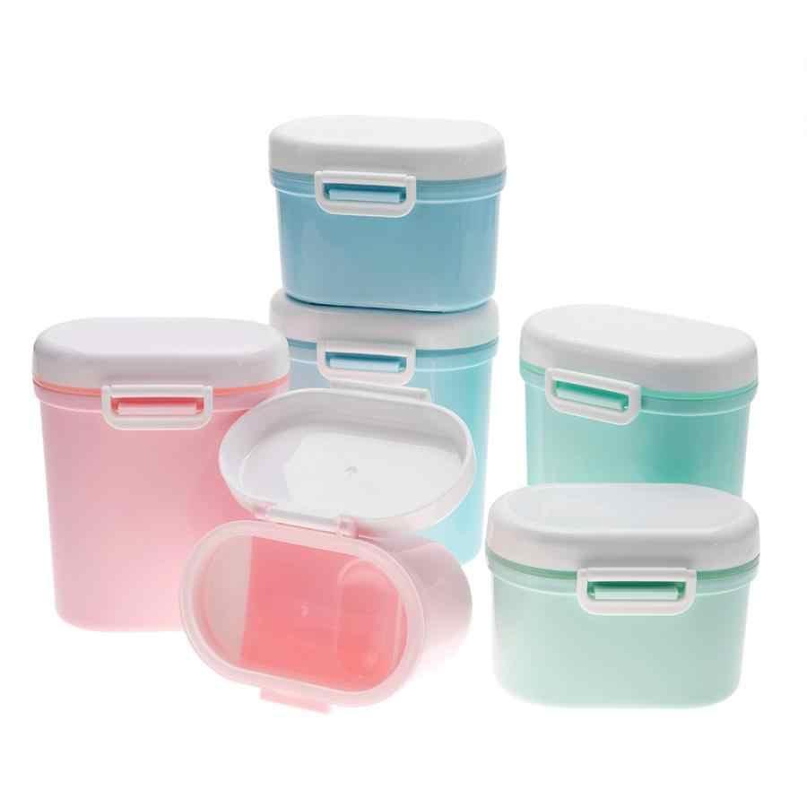 Portable Baby Milk Powder Formula Dispenser Food Container Storage Box Y2