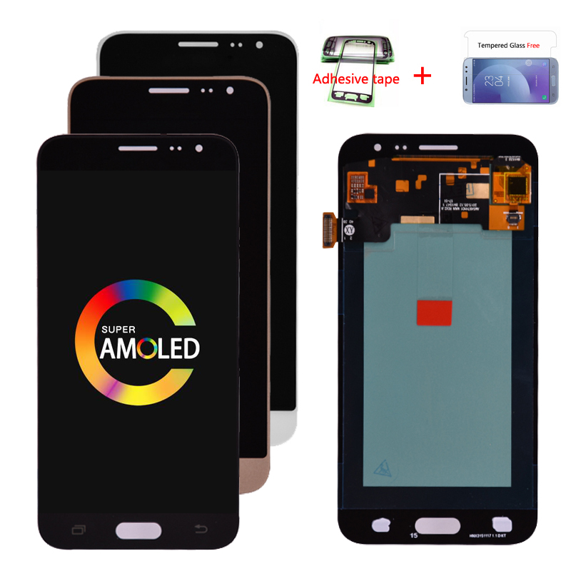 100% Original Super <font><b>Amoled</b></font> For Samsung J3 2016 <font><b>J320</b></font> J320F J320H J320M J320FN <font><b>LCD</b></font> Display With Touch Screen Digitizer Assembly image