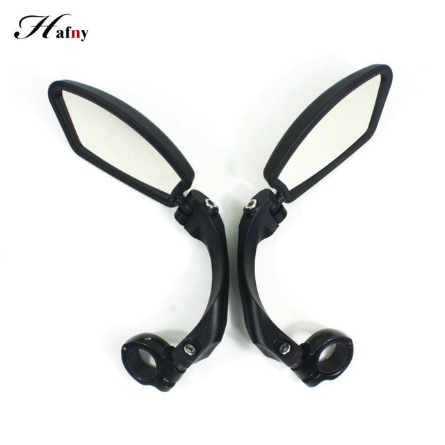 Hafny Bicycle Rearview Mirrors 360° Rotatable Rearview Mirror Handlebar Rearview mirror Bike Cycling Safety Rear View Mirror