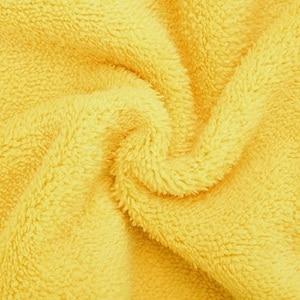 Image 5 - 5 stücke 600gsm Auto Waschen Mikrofaser Handtücher Super Dicken Plüsch Tuch Für Waschen Reinigung Trocknen Absorbieren Wachs Polieren
