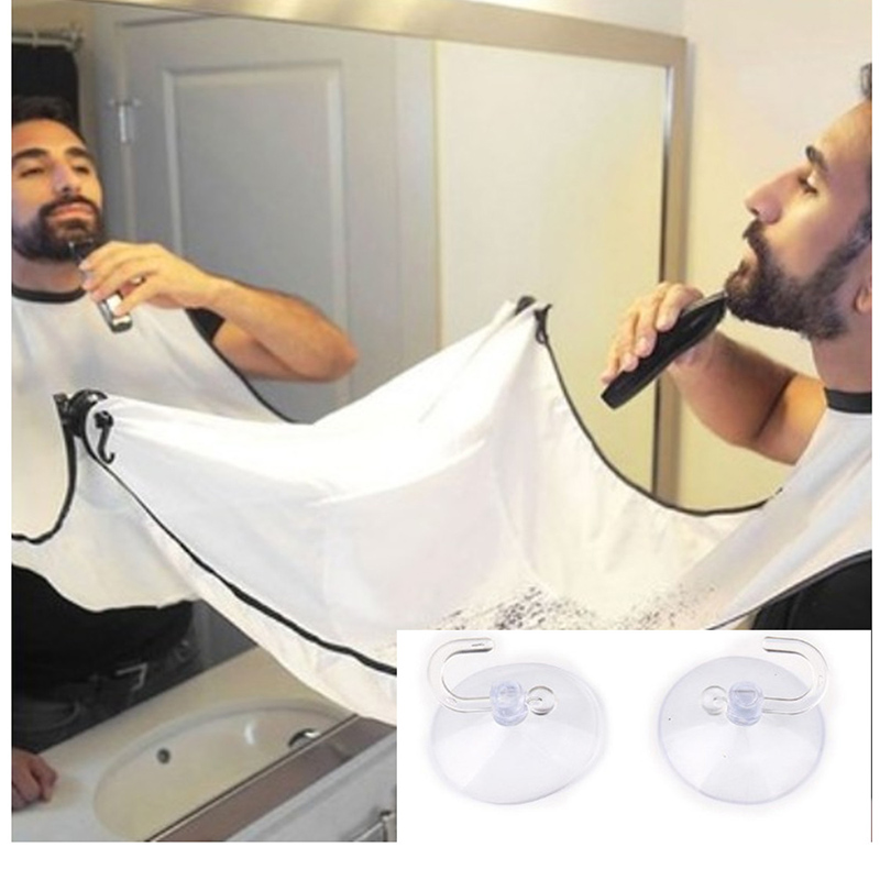 Beard Hair Apron Cape Hairdresser Apron Haircut Facial Hair Barber Shaving Clothing Waterproof Cloth Household Cleaning